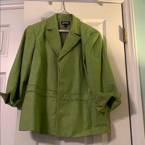 Spring green jacket